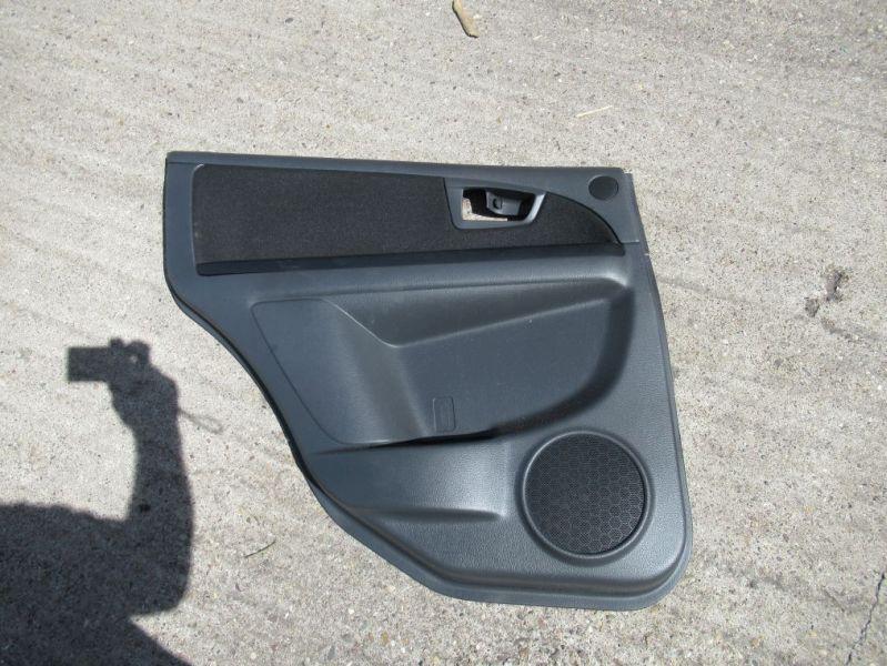 Türverkleidung links hinten EFH 5-Türer schwarzSUZUKI SX4 (GY) 1.6 VVT