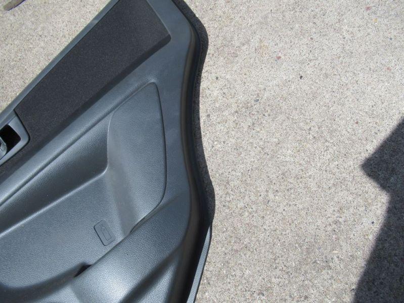 Türverkleidung rechts hinten EFH 5-Türer schwarzSUZUKI SX4 (GY) 1.6 VVT
