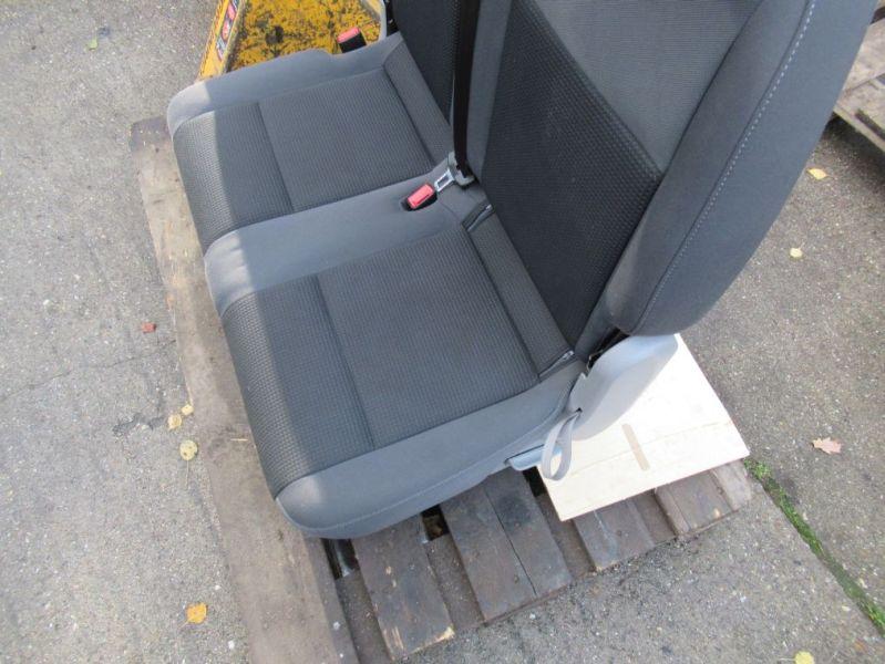 Sitzbank 2. Reihe grauVW CADDY III KOMBI (2KB, 2KJ, 2CB, 2CJ) 2.0