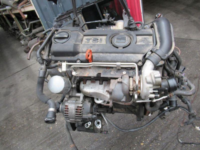 Motor komplett SEAT LEON (1P1) 1.4 TSI