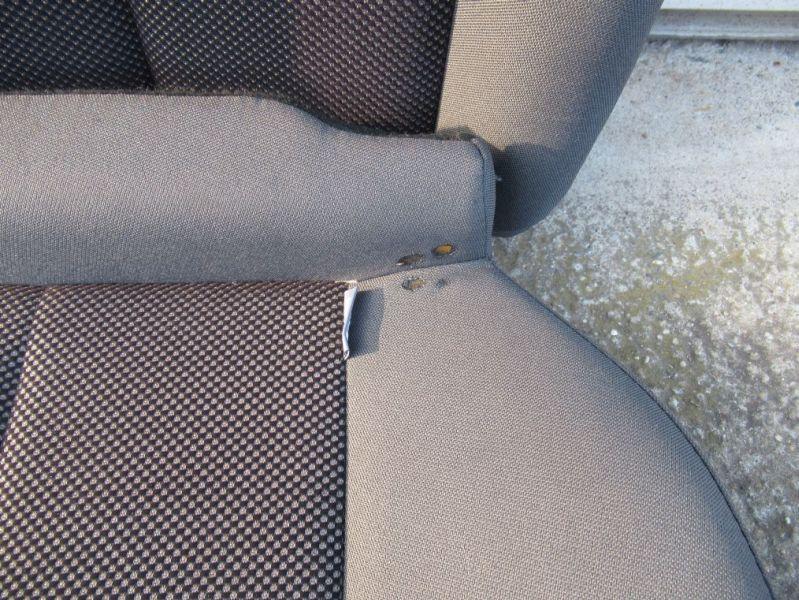 Sitzgarnitur komplett Stoff geteilt SportsitzeSEAT LEON (1P1) 1.4 TSI