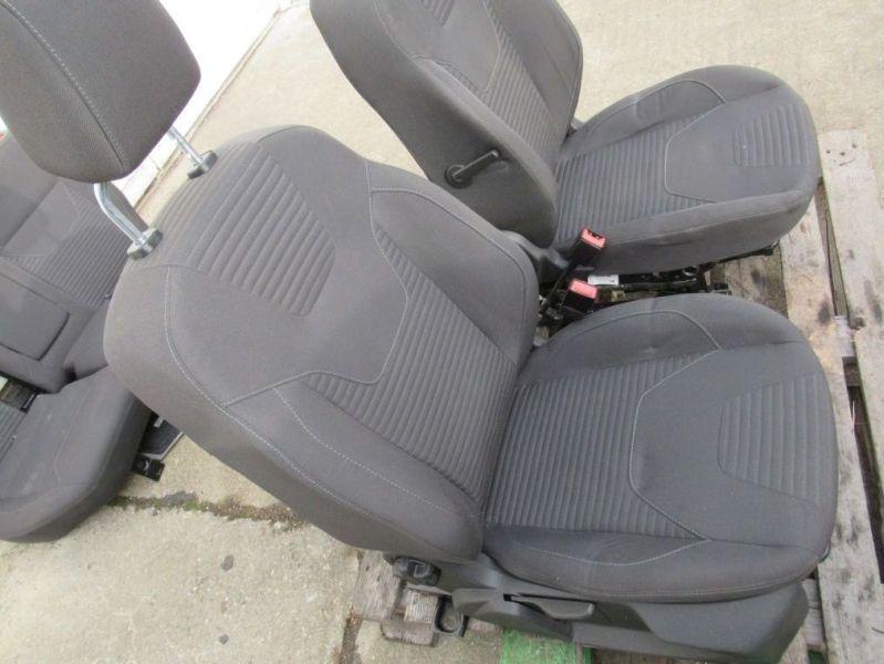 Sitzgarnitur komplett Stoff geteilt SitzheizungFORD FOCUS III TURNIER 1.6 TDCI