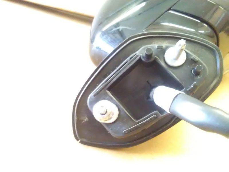 Außenspiegel elektrisch lackiert rechts schwarzFORD MONDEO V TURNIER 2.0 TDCI