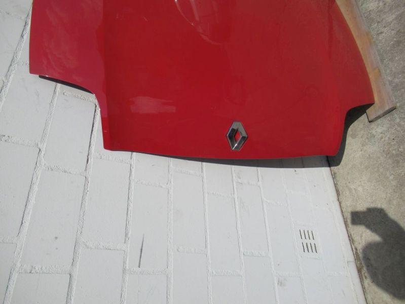 Motorhaube rotRENAULT CLIO II (BB0/1/2_, CB0/1/2_) 1.2