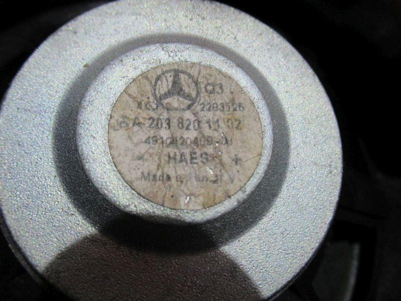 Lautsprecher links vorn MERCEDES-BENZ C-KLASSE (W203) C 200 CDI