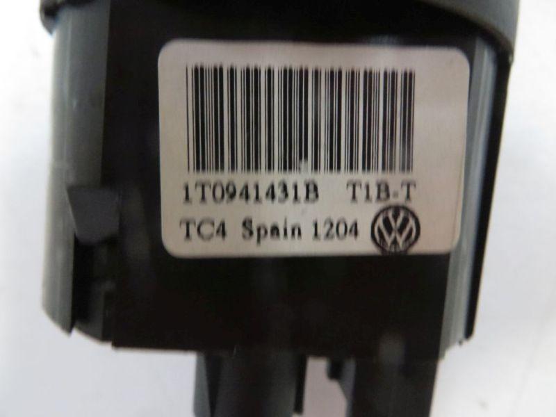 Schalter Licht Lichtschalter schwarzVW TOURAN (1T1, 1T2) 1.9 TDI