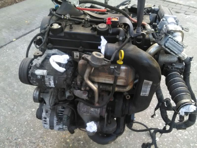 motor mit anbauteile z17 dtr opel astra h 1.7 cdti