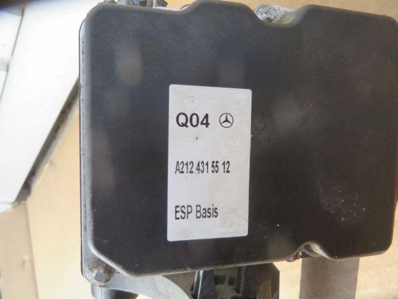 ABS Hydraulikaggregat MERCEDES-BENZ E-KLASSE (W212) E 200 CDI