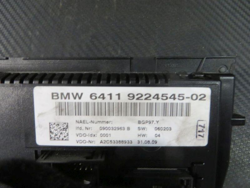 Bedienelement, Klimaanlage BMW 3 TOURING (E91) 318D