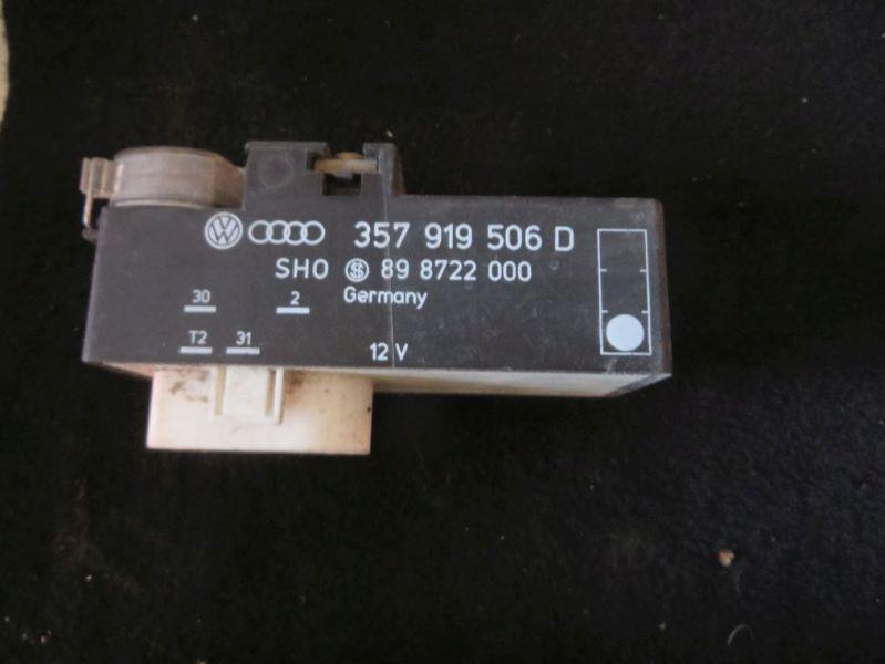 Steuergerät Lüfter Motorkühlung VW VENTO (1H2) 1.6
