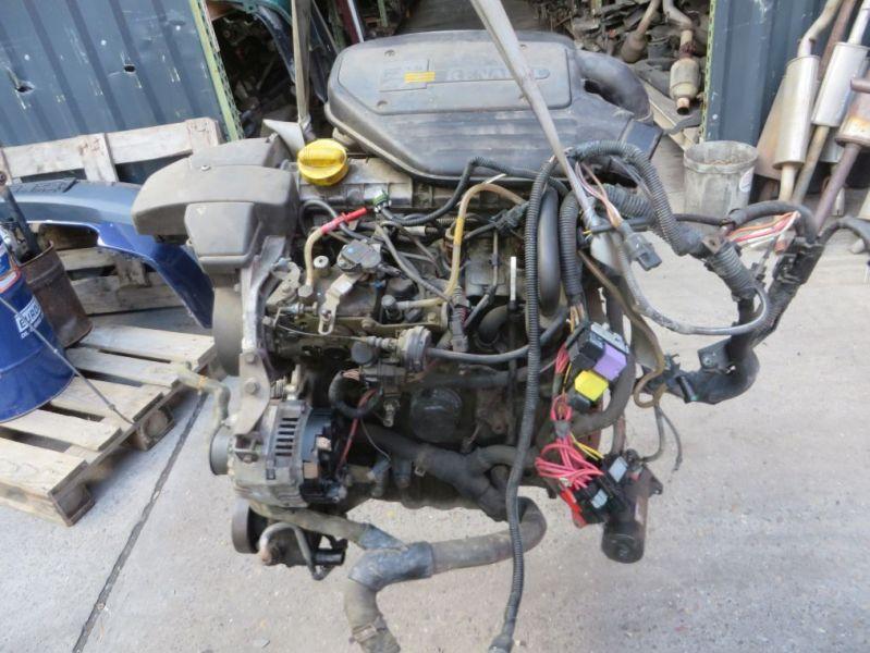 Motor komplett RENAULT KANGOO EXPRESS (FC0/1_) D 65 1.9