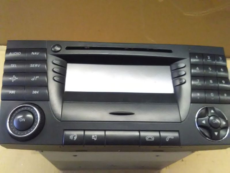 Radio/Navigationssystem-Kombination MID Headunit BE7036MERCEDES-BENZ E-KLASSE T-MODEL (S211) E 220 T CDI